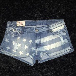 First Kiss Stars & Stripes Shorts